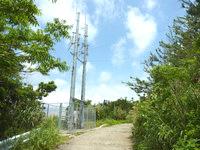 与路島の与路集落展望場所 - 電波塔もあります