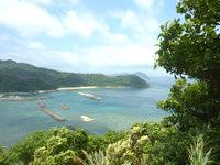 与路島の与路集落展望場所 - 奄美らしい景色が広がります