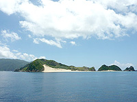 ハンミャ島全景