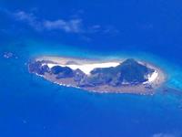 ハンミャ島のハンミャ島全景 - この砂の坂が特徴です