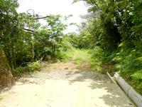 与路島の大縄/ナブリュウ崎への後半の道 - たまに舗装路もあるが基本、未舗装路