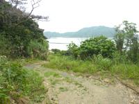 請島「石川道への後半の道」