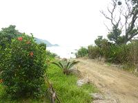 請島の石川道の浜 - 海への入口
