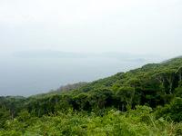 請島の池地大山展望台 夕日台 - 遮るものがほとんど無いので景色が開けています