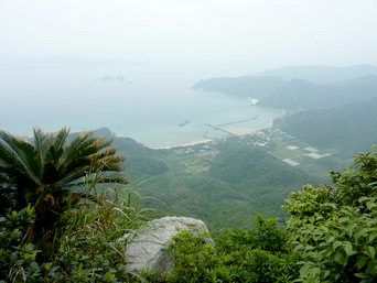 大山ミヨチョン岳頂上