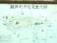 与路島の与路の集落/道/町並み - 与路島マップはかなりアバウト