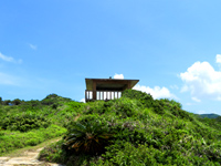座間味島のチシ展望台
