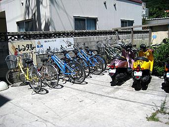 レンタルサイクル&レンタルバイク宮村商店