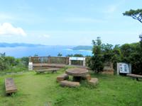 座間味島の高月山展望台 - 座間味と渡嘉敷の間の島々