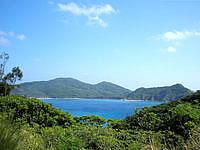 座間味島の阿護の浦 - 様々な場所からこの海を見れます