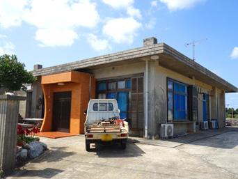 粟国島の民宿かりゆし荘