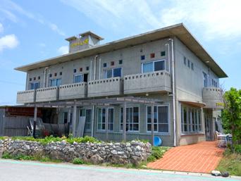 粟国島のプチホテルいさ