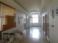 粟国島のプチホテルいさ - 1階の廊下には共用の冷蔵庫有り
