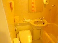 粟国島のプチホテルいさ - バス・トイレ付きで洗浄便座付き
