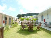 阿嘉島のラグーン315/Lagoon315 - 心地の良い中庭があります
