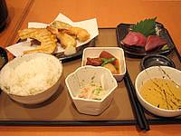 阿嘉島のゲストハウスすまいる/民宿スマイル - 夕食の一例