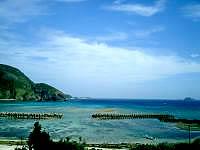 阿嘉島の民宿富里/トゥーラトゥ - 3階からは前浜が一望
