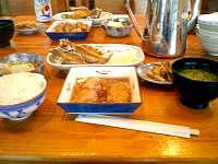 阿嘉島の民宿富里/トゥーラトゥ - 食事はとっても美味しかったです