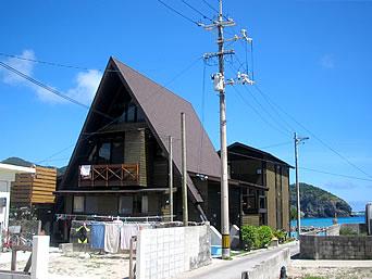 阿嘉島の民宿ウエストコースト
