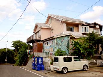 奄美大島のペンショングリーンヒル サーフ&カフェ