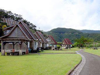 奄美大島の内海公園バンガロー/うちうみバンガロー