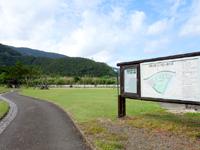 奄美大島の内海公園バンガロー/うちうみバンガロー - 敷地はかなり広々している