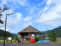 奄美大島の内海公園バンガロー/うちうみバンガロー - 入口部分にある管理棟