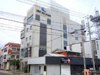 奄美大島のライベストイン奄美/奄美戦史模型資料館 - 古仁屋のメインストリート沿い