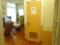 奄美大島のホテルビッグマリン奄美 - 大浴場の脱衣スペースにマッサージチェア有り