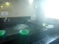 奄美大島のホテルビッグマリン奄美 - 大浴場だけど浴槽が狭い