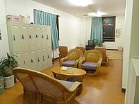 奄美大島の奄美ポートタワーホテル(旧トロピカルステーションホテル) - 大浴場の脱衣室