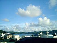 奄美大島の民宿 海 - 屋上からの景色はかなりいい