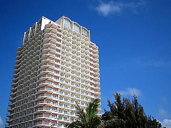 中部のザ・ビーチタワー沖縄