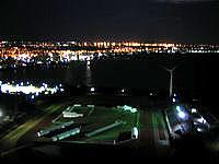 中部のザ・ビーチタワー沖縄 - 夜景もなかなかキレイです
