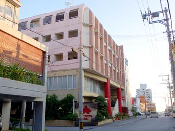 中部のデイゴホテル