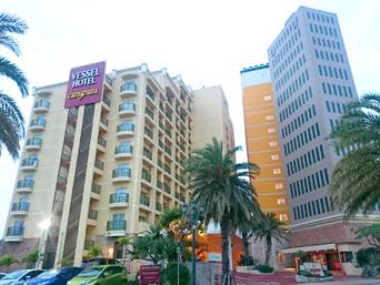 中部のベッセルホテルカンパーナ沖縄
