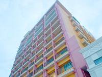 中部のベッセルホテルカンパーナ沖縄 - 新館の色はピンク色?