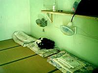 波照間島の西浜荘 - 部屋はドミでこんな感じ