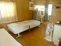 波照間島の素泊まりハウス美波 - 2ベッドの客室
