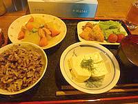 波照間島のうりずん家 - 夕食のパターン1