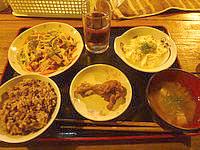 波照間島のうりずん家 - 夕食のパターン2