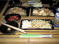鳩間島の島茶屋&宿屋あだなし - 夕食は結構美味しかった