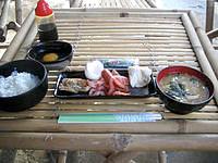 鳩間島の島茶屋&宿屋あだなし - 朝食はほどよい量でした