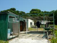 鳩間島のあだなし別館(旧島ヌ家ポッポ) - 建物は今も使われていて安心しました
