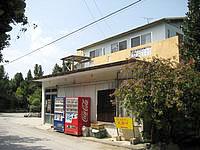 北部の民宿・レストラン民宿 岬 - 宿と食堂と売店が一緒になっているみたい