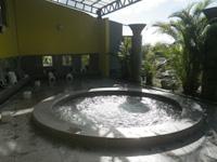 北部の沖縄かりゆしビーチリゾートオーシャンスパ - ウイングタワーB1。森の湯露天風呂