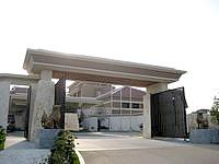 北部のザ・リッツ・カールトン沖縄(旧喜瀬別邸) - メインのエントランス