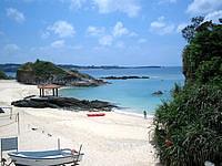 北部のホテルみゆきビーチ - 意外とキレイな海が広がっています
