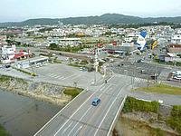 北部のスーパーホテル沖縄・名護 - 国道側の景色はなかなか良いかも?