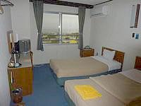 伊江島のホテルヒルトップ伊江島 - 施設はやや古さを感じる